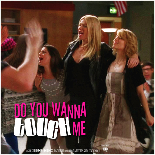 2x15 Sexy | Do You Wanna Touch Me Requested Alternative Cover 'The Faberry Series'