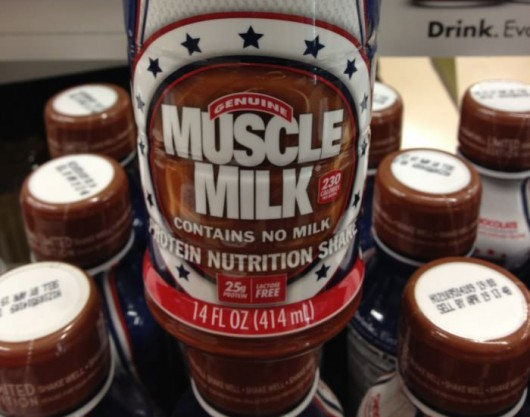 Muscle Milk. Contains No Milk. « NextNature.net