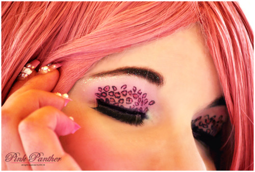 ohmyburando:  Pink Panther: Make-Up by ~Cat-sama