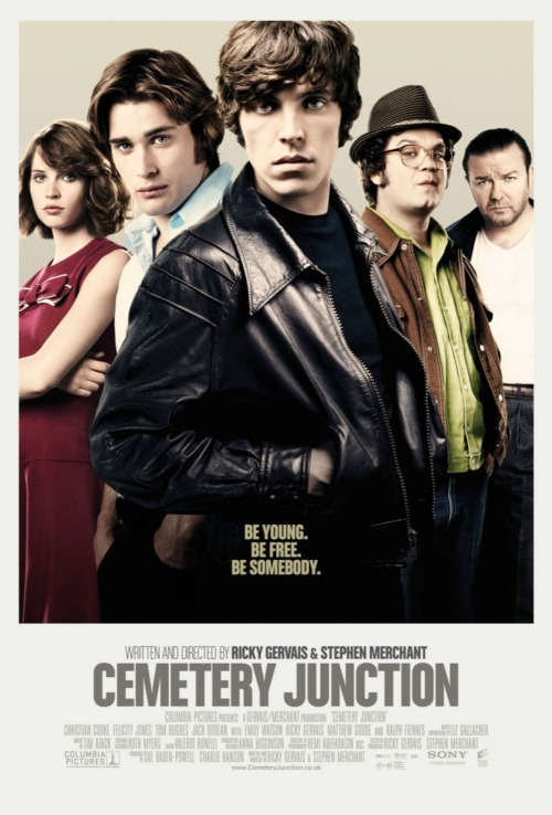 Cemetery Junction (2010) This turned out to be pretty much what I expected. And I don't mean that in a bad way. It was a nice marriage of the humour as well as the heartfelt intelligence I've come to expect from Ricky Gervais and Stephen Merchant. I liked the 70s style too. It was pretty formulaic and predictable overall though. I've seen the same sort of story a few times before. In the end, I enjoyed it. It was nice and had plenty of great, funny moments.
