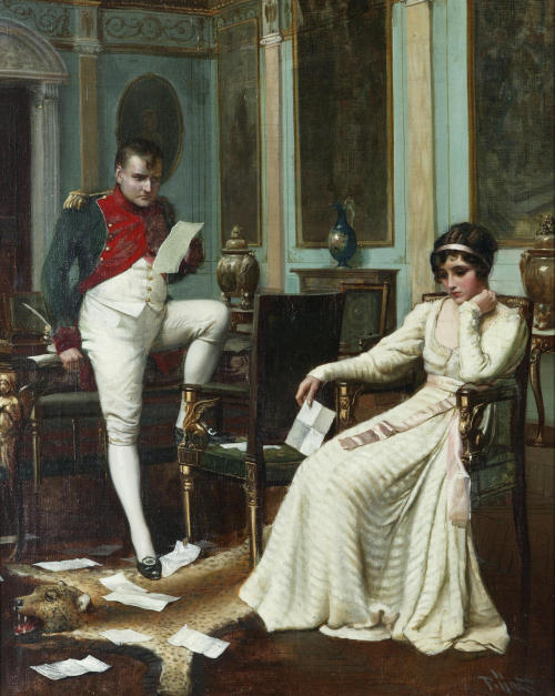 monsieurleprince:  Harold H. Piffard (active 1895 - 1899) - Napoleon and Josephine