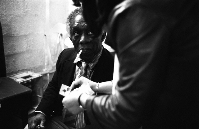 Born on this day: Abdullah Ibn Buhaina, better known as Art Blakey Photo by John Van Hasselt