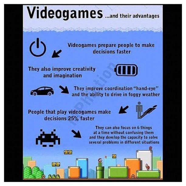 #videogames #science #gaming #truth (Taken with Instagram)