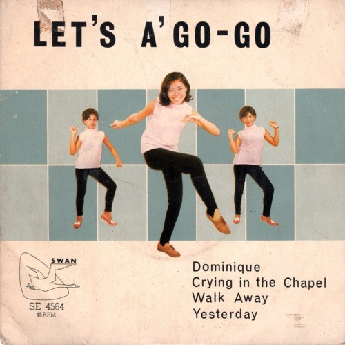 theswinginsixties:  Charlie & His Go-Go Boys, 'Let's A Go-Go' - 1960s record cover art.