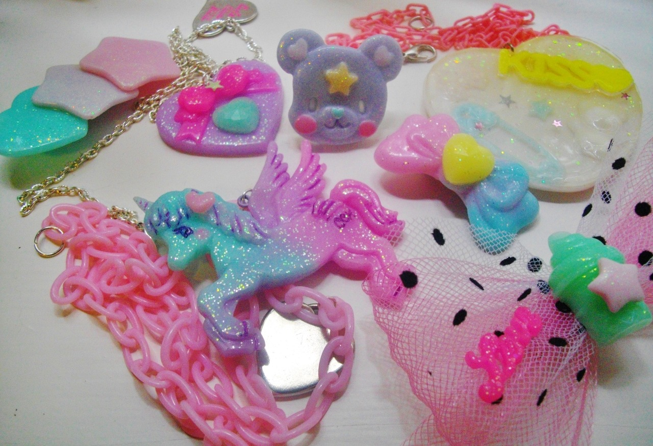my cute can kill jewellery collection ^^ lila is ridiculously talented! <3