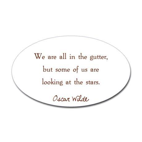 Sold a We are All in the Gutter… sticker at Cafepress