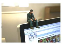 A Little Sad Keanu Reeves now available at Shapeways (via Shapeways)