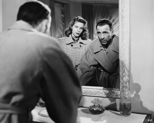 Lauren Bacall and Humphrey Bogart in Dark Passage (1947).