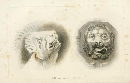 John Ruskin, Noble and Ignoble Grotesque from the The Stones of Venice  (adapted from jahsonic)
