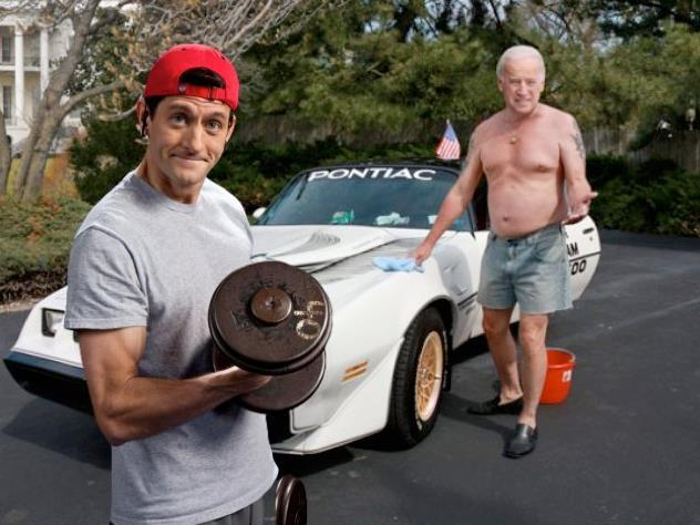 P90X Paul Ryan v. Onion Joe Biden (Source: @AntDeRosa)