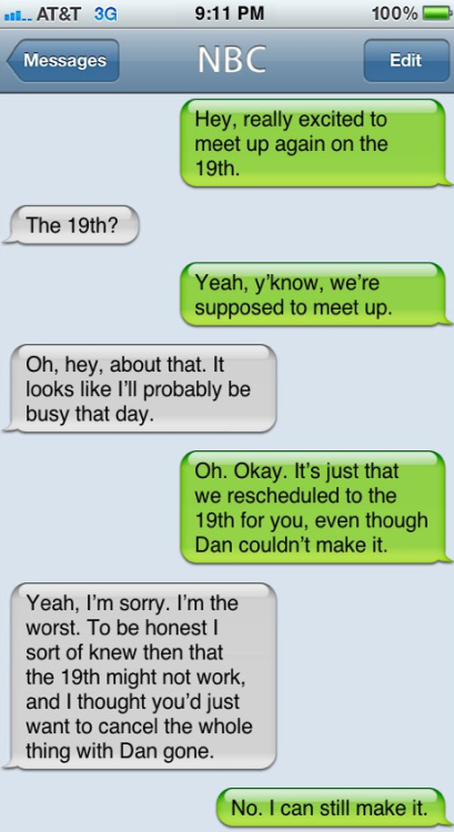 "The Show ""Community"" Texts NBC [Click to continue reading]"