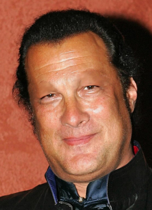 stars-without-eyebrows:  Steven Seagal - Per request.