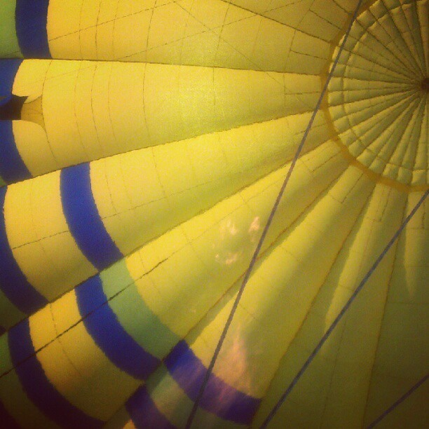 Hot air balloon time! (Taken with Instagram)