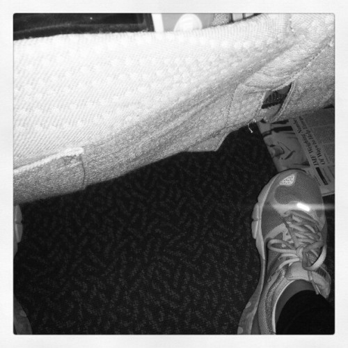 See all that legroom?! That's what happens when you have a 15 hour flight with a whole row to yourself (Taken with Instagram at Dallas/Fort Worth International Airport (DFW))