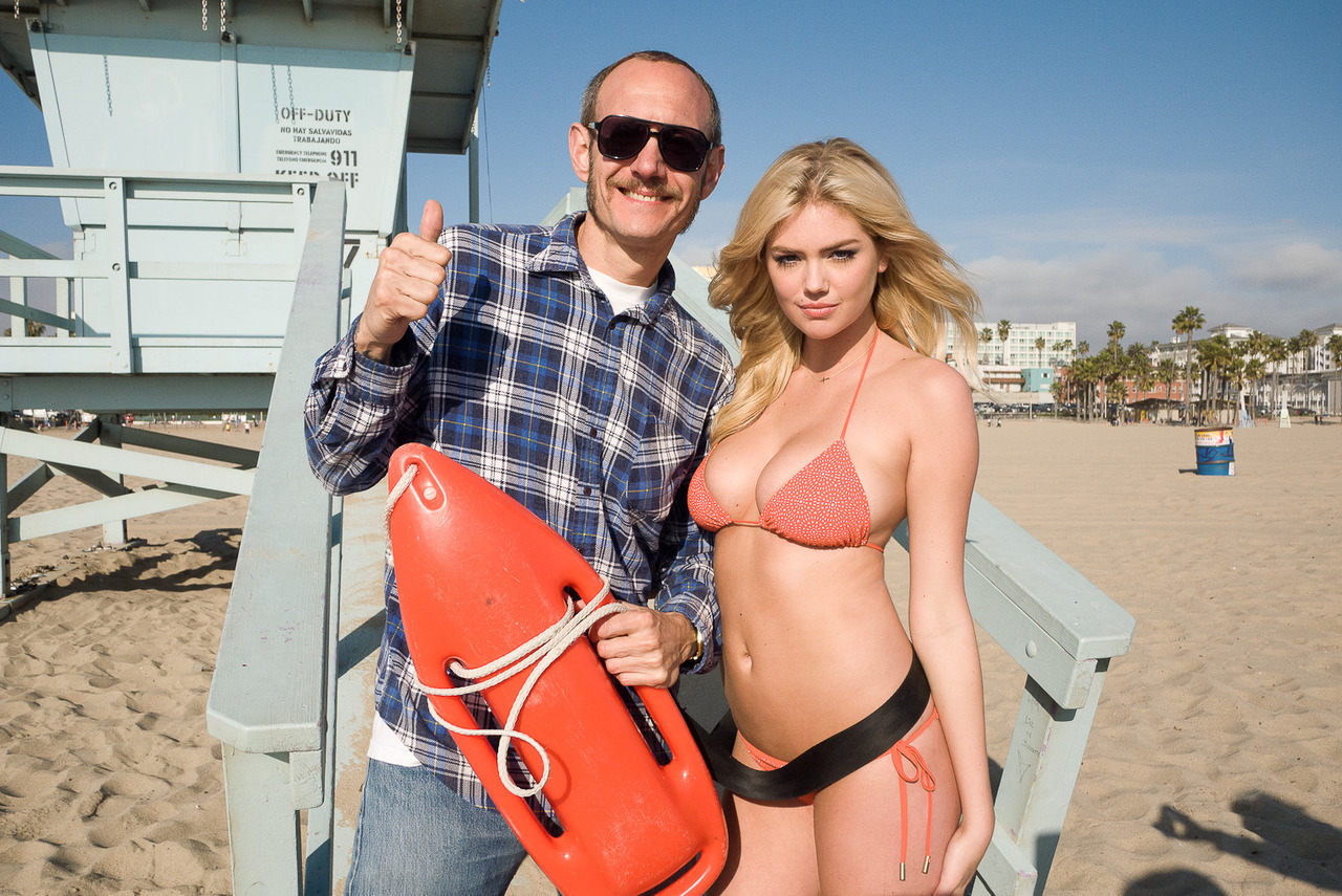 terrysdiary:  Me and Kate Upton