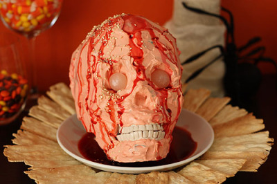 flavorpill:  Zombie head cheese and other disgusting halloween foods we dare you to eat   CamCron's 13 Days of Halloween