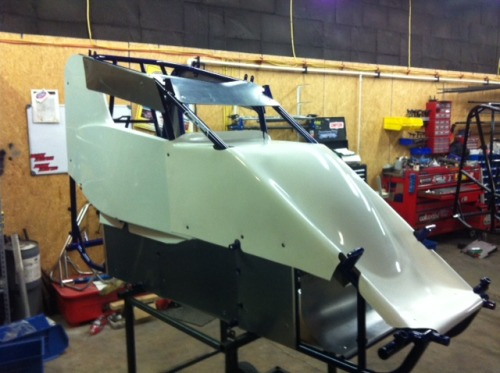 EDGE custom chassis frame and body! ProMoly tubing visible!