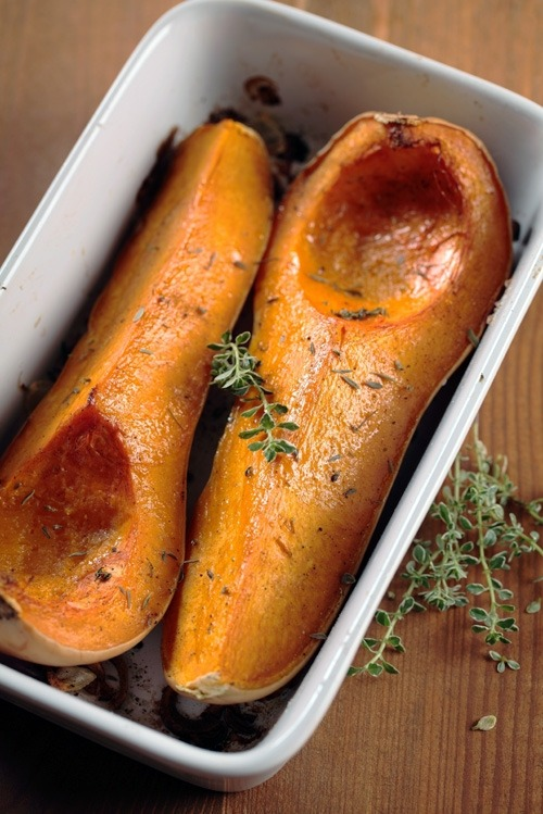 letthemeatvegancake:  Roasted Butternut Squash Recipe Here