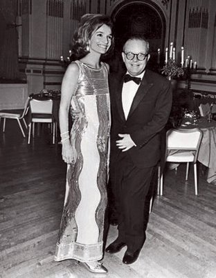 Lee Radziwill with Truman Capote