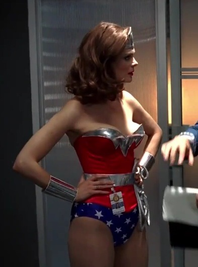 watikalemonnews:  Emily Deschanel as Wonder Woman in a third season episode of Bones