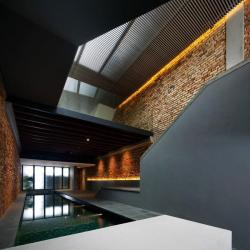theblackworkshop:  The Pool ShopHouse by FARM and KD Architects. Singapore