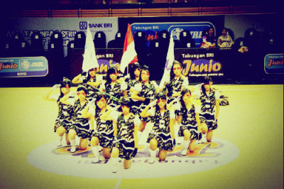 Saint-eX at dance competition JRBL Indonesia