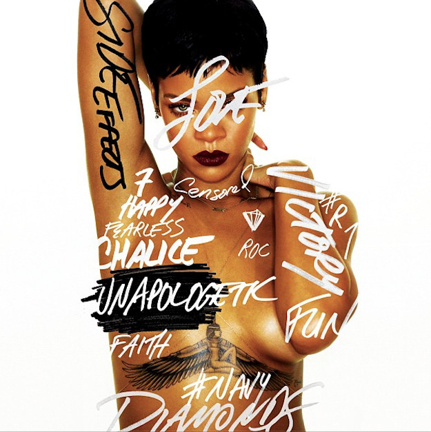 Rihanna releases the cover to upcoming album Side Effects and it will definitely leave an impression.