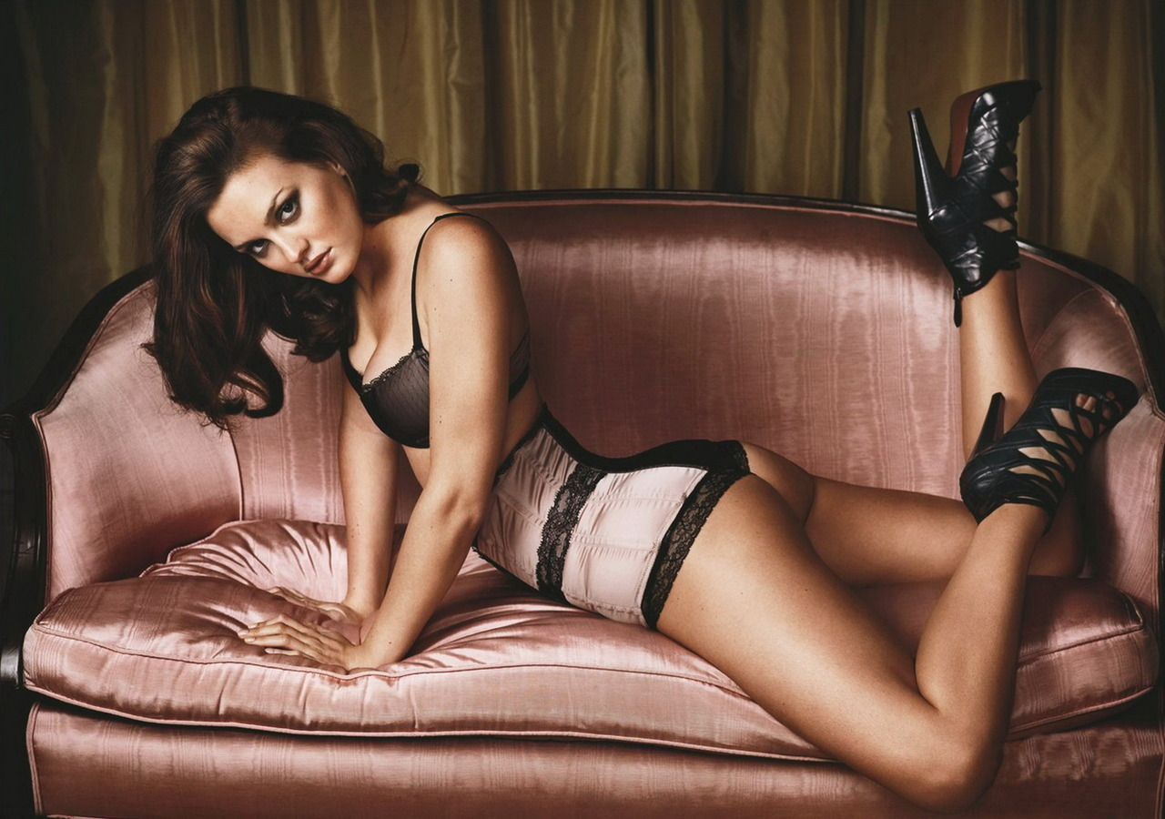 Leighton Meester for GQ Magazine December 2009
