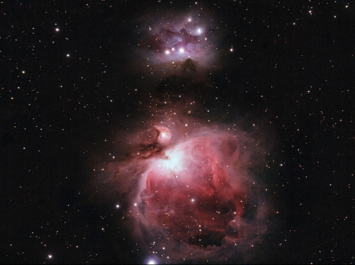 M42 - Orinonebel/RunningMan by cfaobam on Flickr.