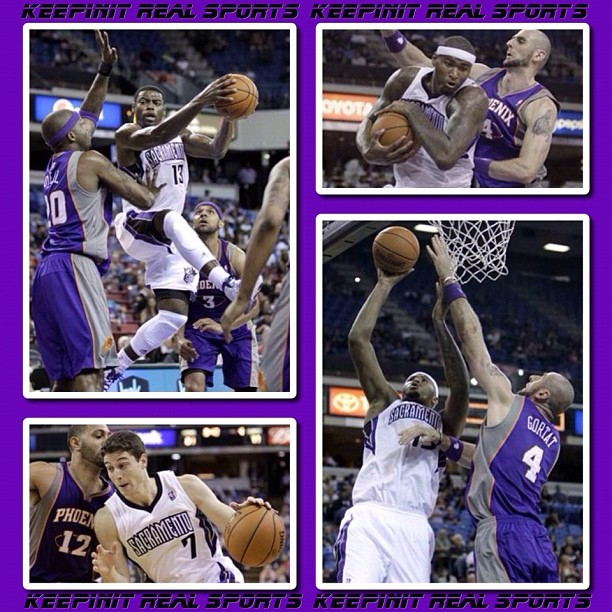 NBA: Pre-Season  Suns 96 (0-1, 0-0 away) Kings 102 (1-0, 1-0 home) FINAL  Top Performers Phoenix: M. Beasley 14 Pts, 3 Reb, 5 Ast, 2 Stl Sacramento: D. Cousins 21 Pts, 9 Reb, 1 Ast, 1 Stl    #keepinitrealsports #Suns #Kings #Beasley #Cousins #PreSeason #NBA #Basketball #Hoops #B_Ball #Streetball #Sports #MysterKeepinit  (Taken with Instagram)