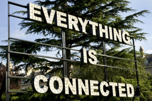 nevver:  Everything is connected