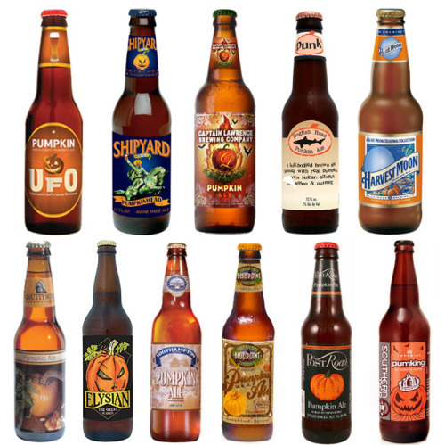 tallgirltales:  Bon Appetit's best pumpkin beers taste test. I'll have to give their top 3 a try.  We've tried a few of these pumpkin ales. Very, very tasty!