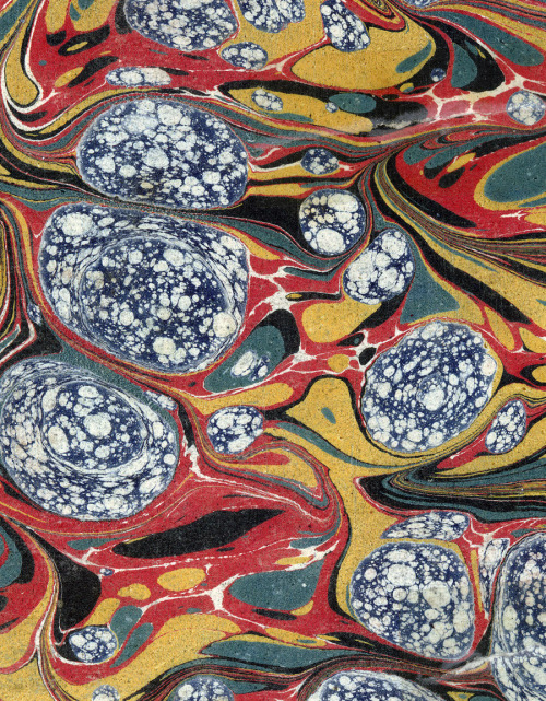 repulsed:  Marbled Paper Designs
