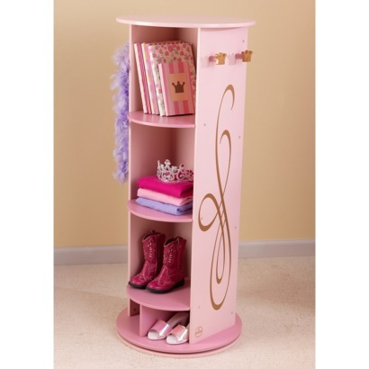 | Kids Room | Marketplace : Target KidKraft Princess Dress Up Unit - Pink/Gold A pink and gold dresser with a mirror for a little girl's room.
