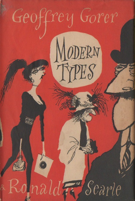 « Modern Types » Ronald Searle illustration, 1955