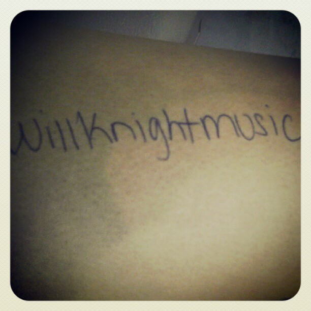 Thanks to all who sent pics in to support #WillKnightMusic much love! www.willknightmusic.com  (Taken with Instagram)