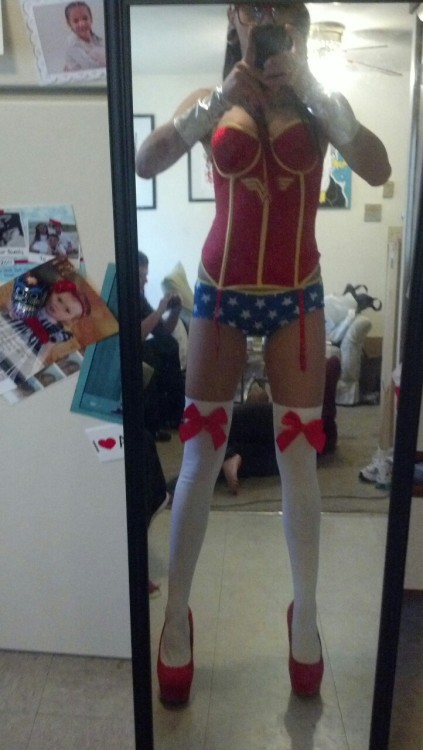 imnotnormal7:  Sometimes i like to dress as wonder woman Taken with Instagram