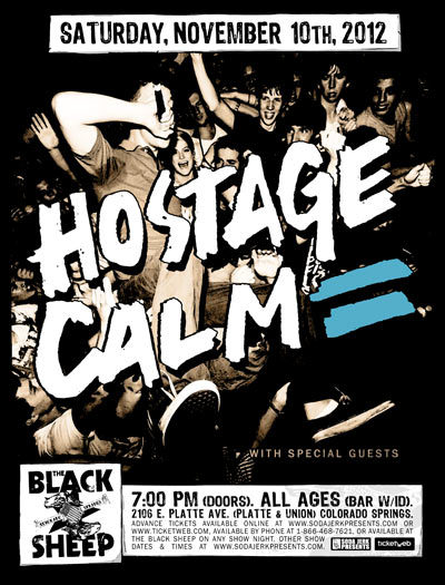 I'm stoked. Are you stoked?  Hostage Calm. November 10th. The Black Sheep. Stream their new album here