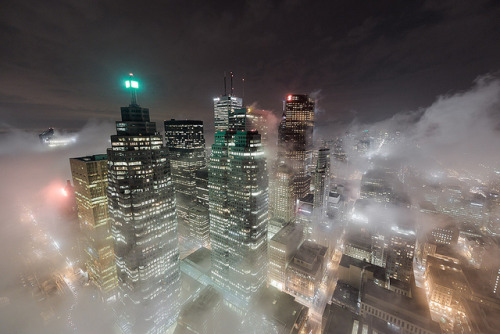 City Rising - Timelapse by tomms on Flickr.