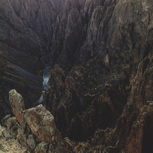 Taken with Instagram at Black Canyon of the Gunnison National Park