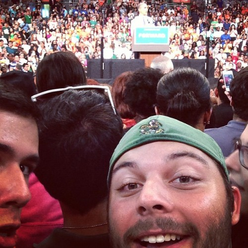 #me and Mr. Prez (Taken with Instagram)