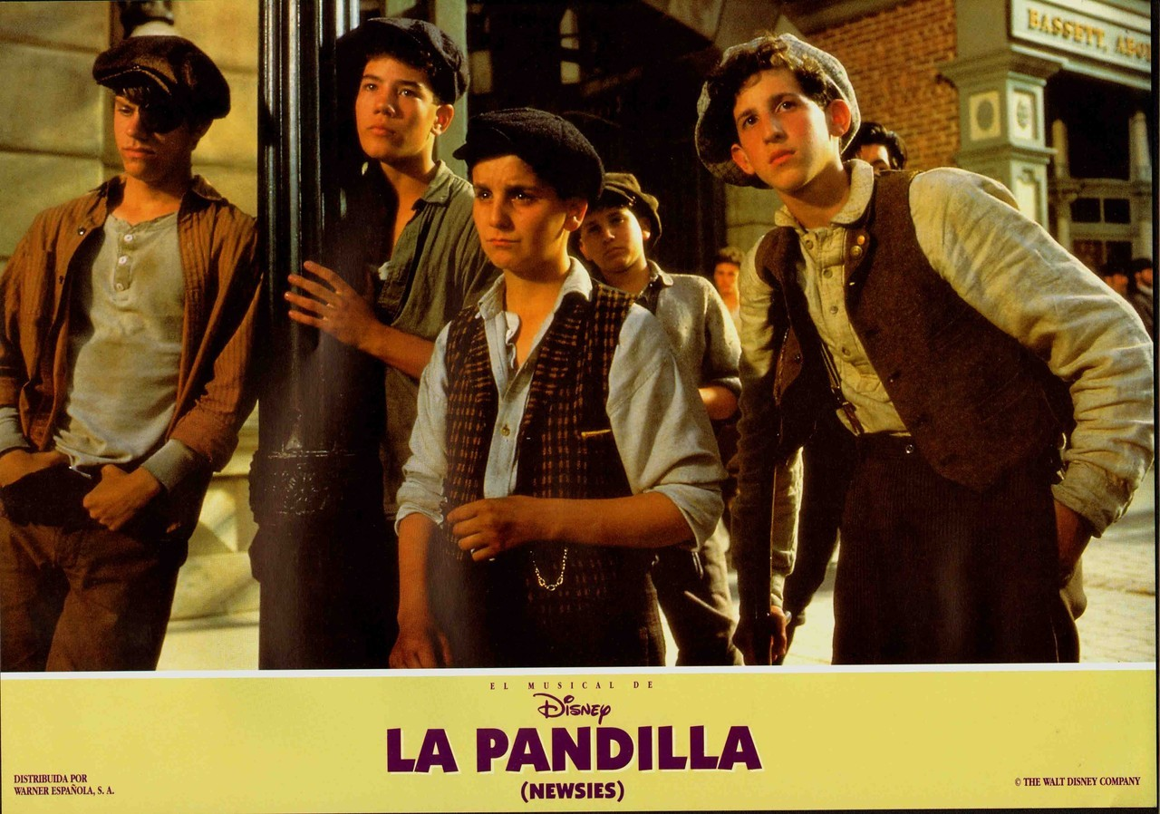 Newsies, Spanish lobby card. 1992 Submitted by Ricardo