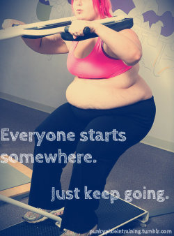 perfectlygoodcarrot:  punkypixieintraining:  Keep going.  I love how this girl's got just the sports bra on.
