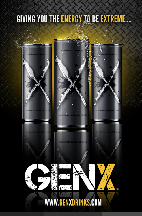 Design i did for GenXDrinks.com