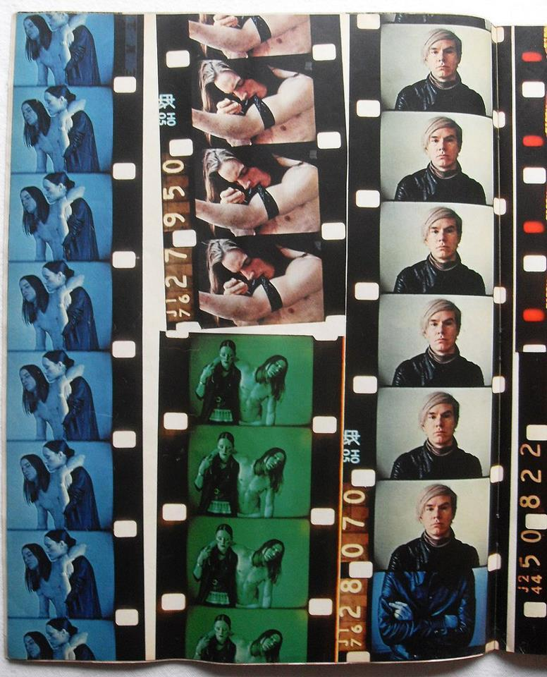 rebanach:  Andy Warhol's negatives.