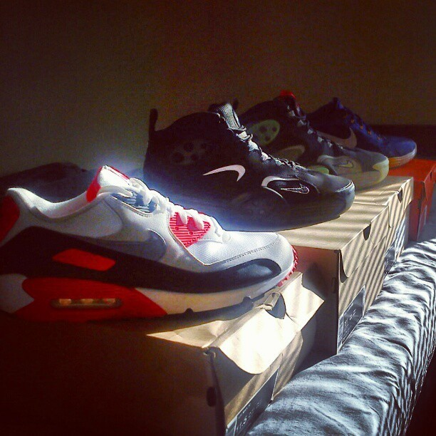 Wasn't lying when I said that I haven't bought any j's this year (Taken with Instagram)