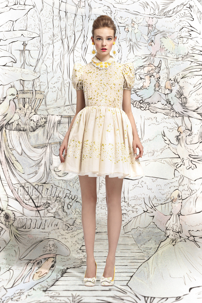 suicideblonde:  Red Valentino Spring 2013  everything about this!