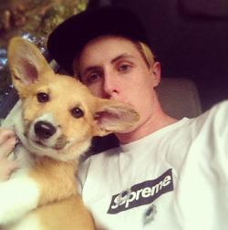 4tkgwfo:  Lucas and his dog :)