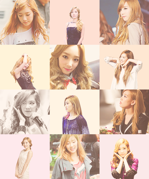 taeyeon with blonde hair