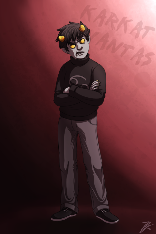 taho-gitwick:  WHAT IS THIS MADNESS HOMESTUCK FANART? Oh well, I've been a fan for almost 2 years now and I never came around drawing anything related to it, probably was about time. Really happy how it turned out though, maybe I'll draw some more when I'm bored. :U